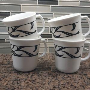 Corningware Mugsx4